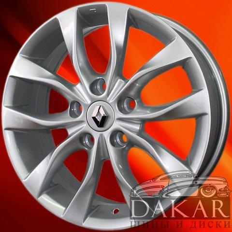 Литые диски Диск 6.5j-16 5x114.3 47 66.1 S RN-112 шинный центр DAKAR