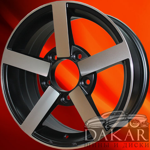 DWS-1382 6.5j-16 5x139.7 35 98.5 BFP Dakar